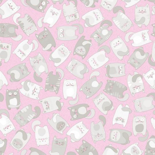 Линолеум бытовой Синтерос Комфорт Kitty 2