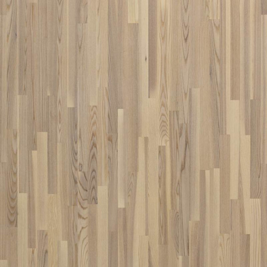Паркетная доска Floorwood (Флорвуд) Ash Madison White Matt Lac 3s