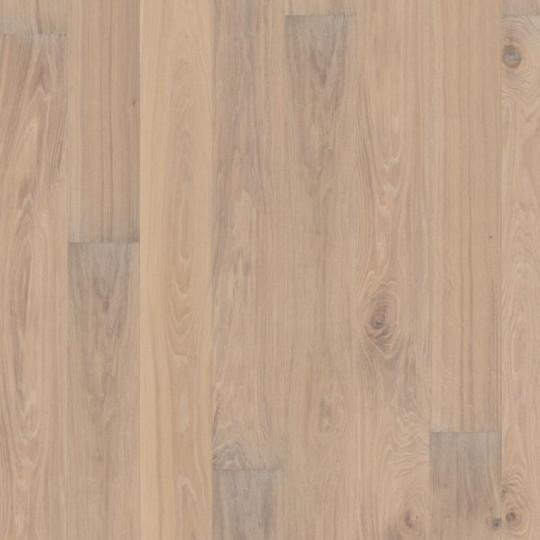 Паркетная доска Karelia (Карелия) Light Oak Story 187 Dolomite Nature Oil 1S 5G Дуб Стори Доломит Натур Ойл белое масло однополосный