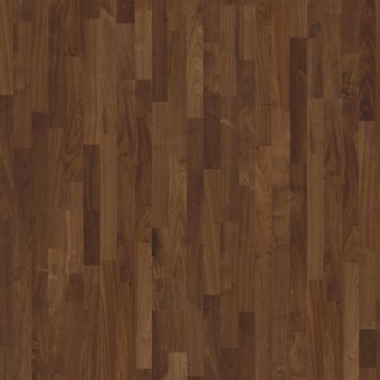 Паркетная доска Karelia (Карелия) Earth Walnut Select 3S Орех Селект трёхполосный