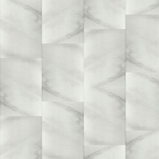 Кварц-виниловая ПВХ-плитка Fargo (Фарго) Белый Мрамор 6089-1