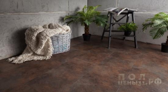 Кварц-виниловая ПВХ-плитка Aquafloor коллекция Stone