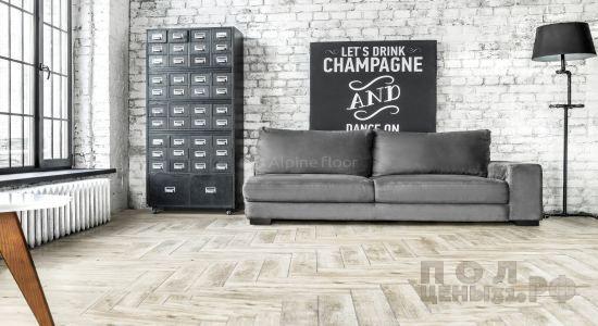 Кварц-виниловая ПВХ-плитка Alpine Floor коллекция Expressive