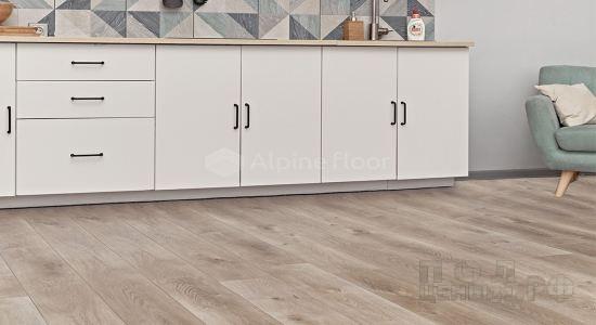 Кварц-виниловая ПВХ-плитка Alpine Floor коллекция Premium XL
