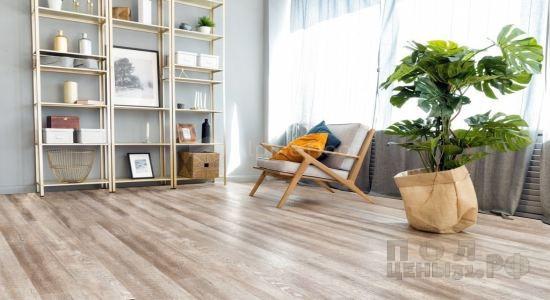 Кварц-виниловая ПВХ-плитка Alpine Floor коллекция Real Wood